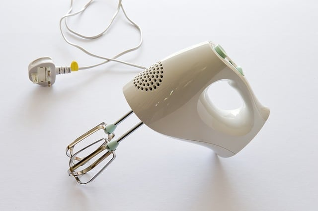 Electric Hand Mixer Double Whisk